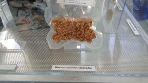 Comida espacial:Huevos revueltos sazonados