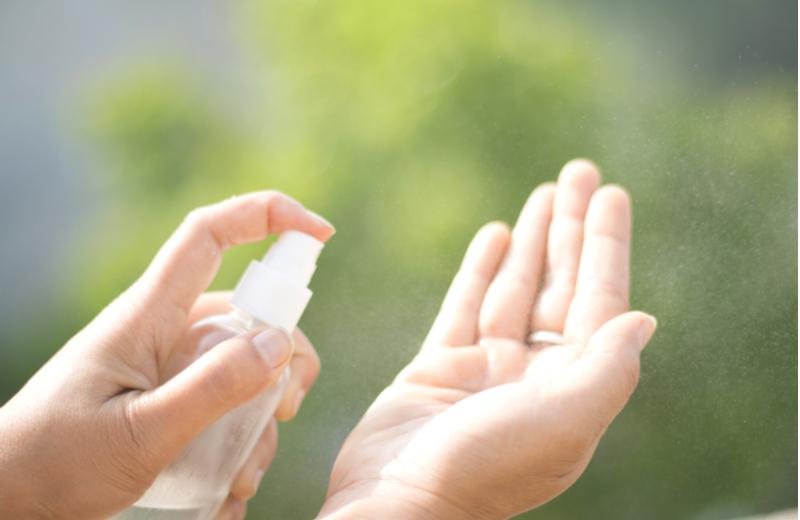 Desinfectante manos natural y con aceites naturales